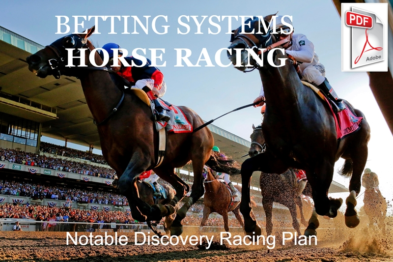 Notable Discovery Racing Plan