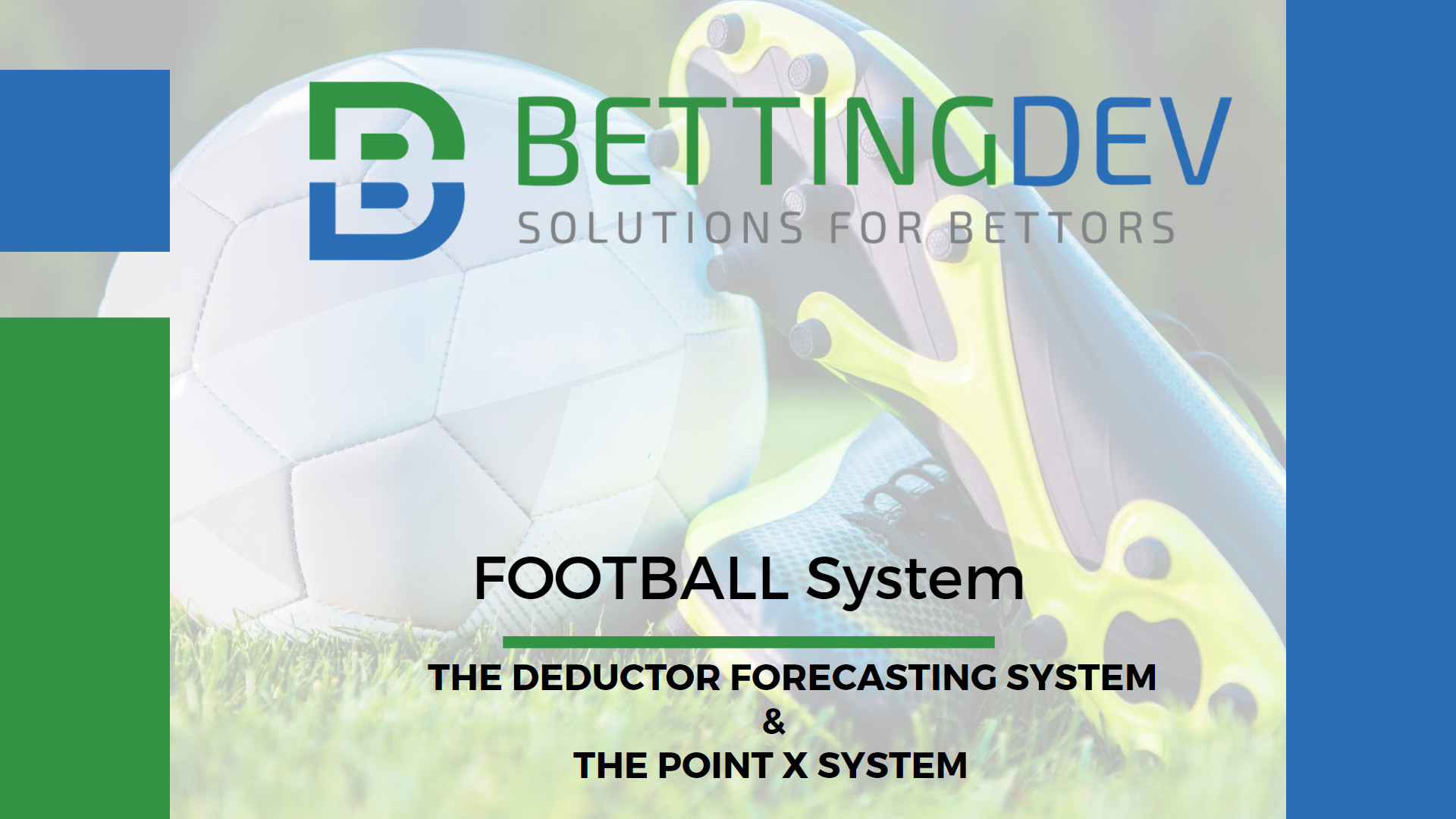 Deductor Forecasting System & The Point X System